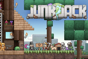 Junk Jack game preview