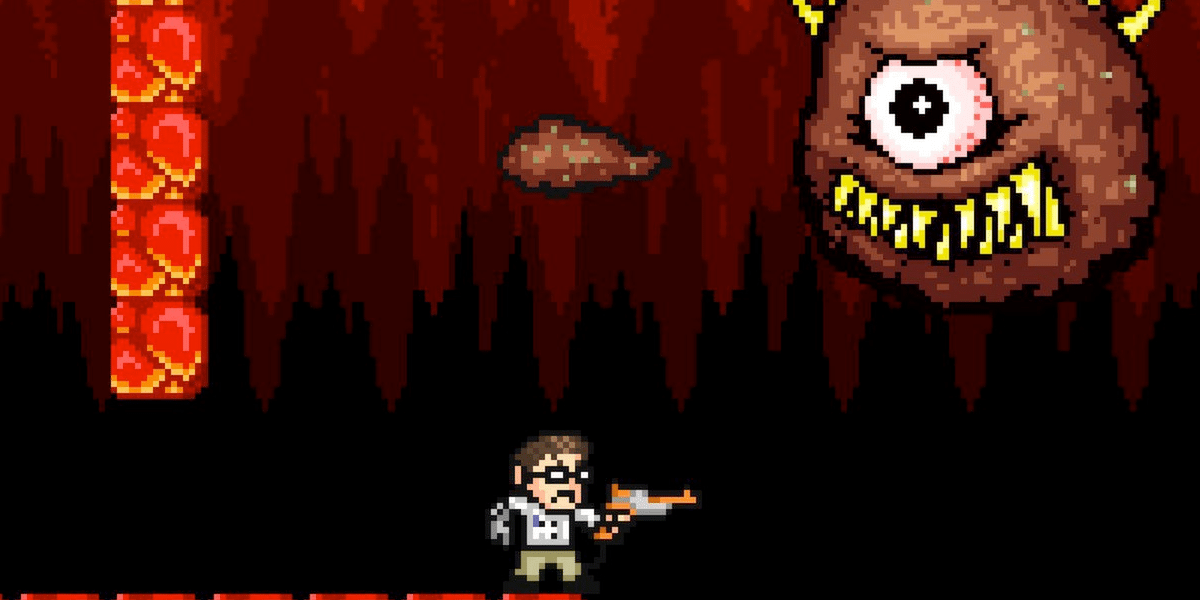 Angry Video Game Nerd Adventures Header