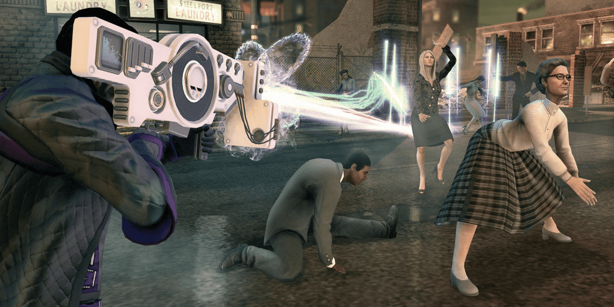the saints row series