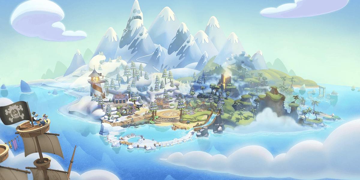club penguin island