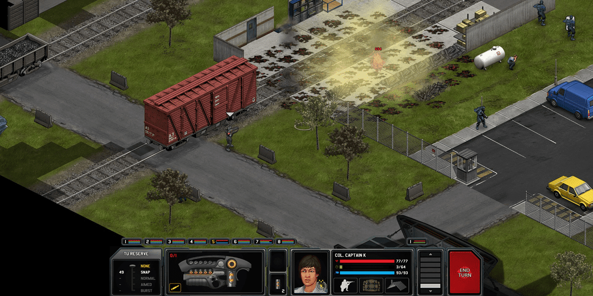 Xenonauts gameplay